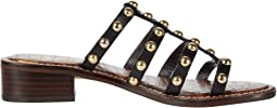 Black Heavy Texas Veg Leather