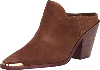Dolce Vita Women's Kate Ankle Boot, DK Brown Suede, 9