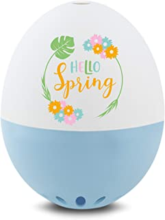 Brainstream A005374 BeepEgg Singing Floating Spring Themed Egg Timer, Light Blue