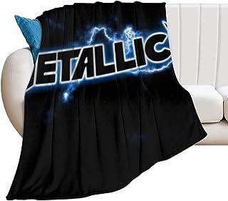 Metallica Rock Band Music Fleece Blanket Quilt Blanket Print In USA