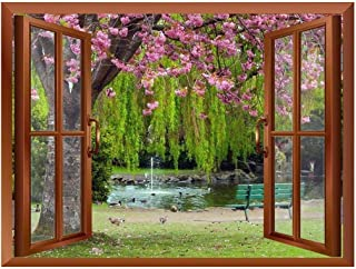 wall26 Cherry Blossom in Spring Removable Wall Sticker/Wall Mural - 24