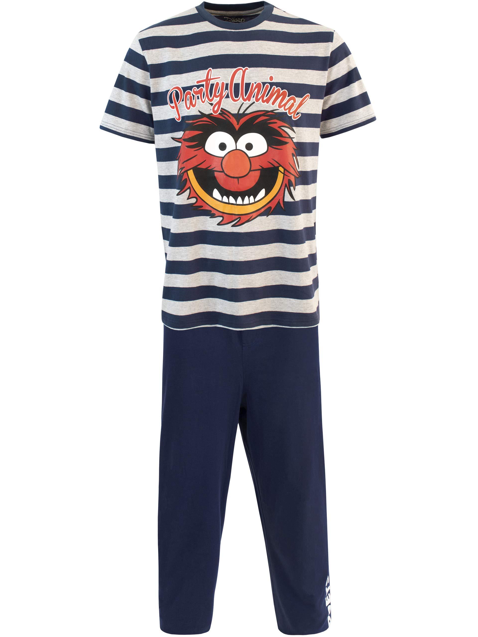 Mens Muppets Animal Pyjamas Disney Various Designs