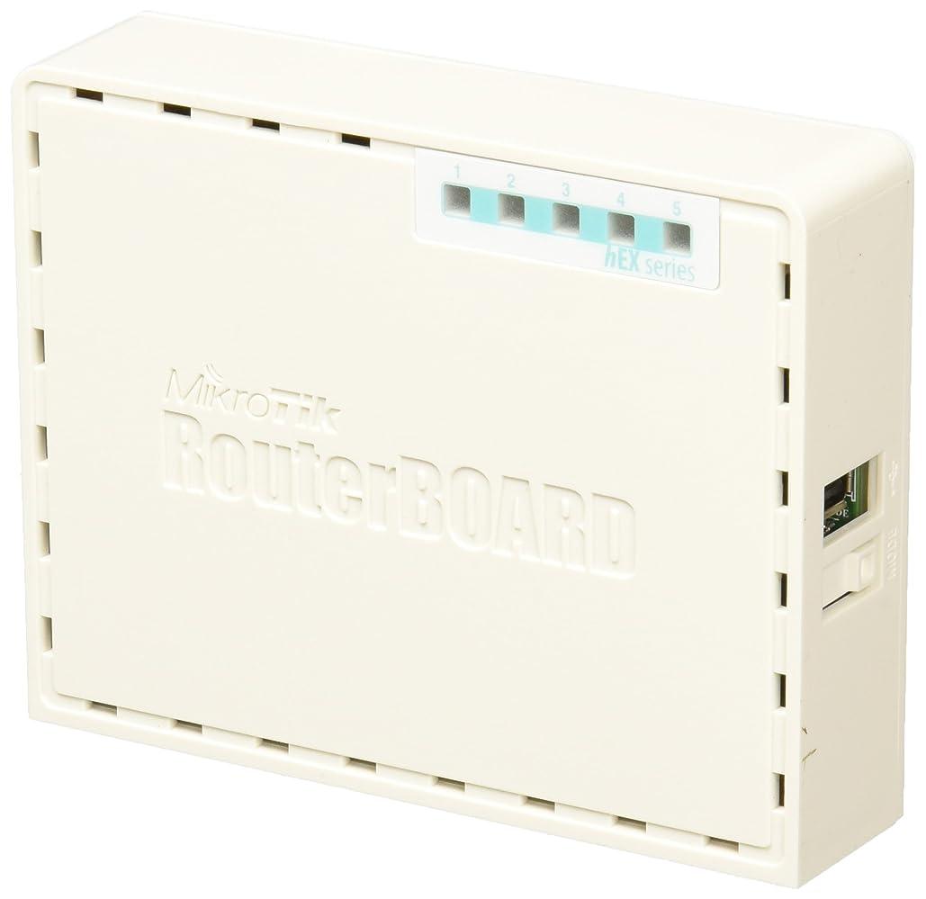 苦しみホイールまばたきMikrotik RB750GR3 イーサネットLAN ターコイズ, ホワイト 有線 ルータ
