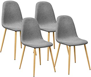 Giantex Set of 4 Kitchen Dining Chairs, Easily Assemble...