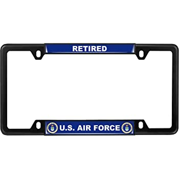 AU-Gold US Navy Stainless Steel License Plate Frame Au-TOMOTIVE GOLD INC