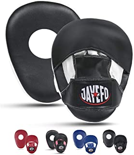 HIANG256 Training Sticks 2pcs PU Leather Boxing Sticks Focusing Mitts Pads Training Martial Punch Foam Sticks for Muay Thai Coordination Speed Reaction Training
