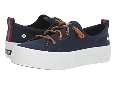 Sperry Crest Vibe Triple Canvas (Navy) Women