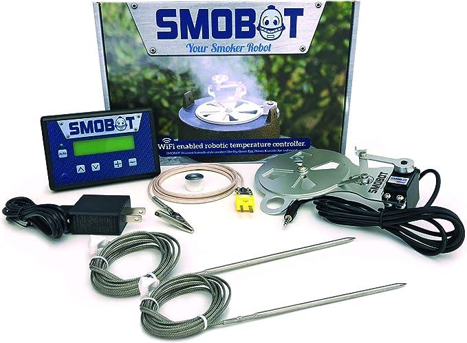SMOBOT WiFi Kamado Grill and Smoker Temperature Controller - Robotic Damper