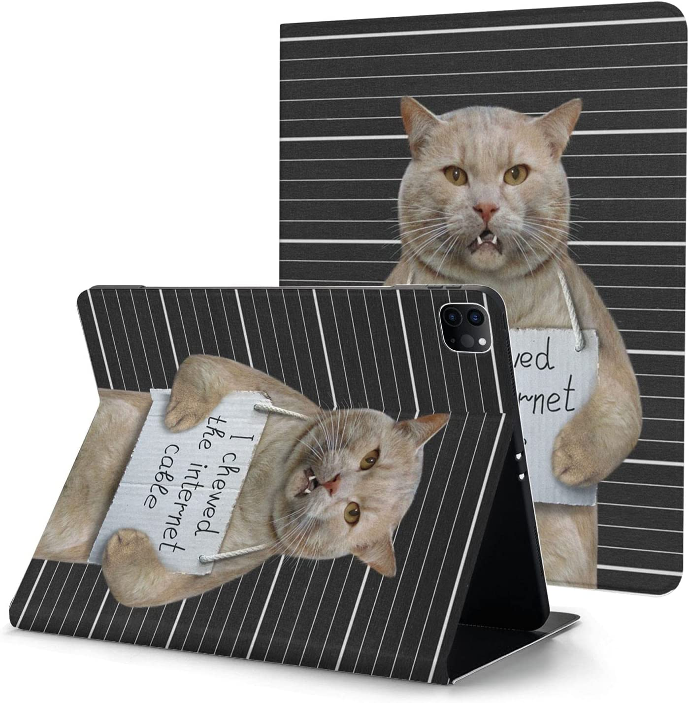 New Ipad Opening large release sale Pro 2020-11 Inches 2021new shipping free shipping Holder Built-in Pencil Cat Printing