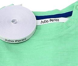 100 Etiquetas personalizadas para nombre. Etiquetas de tela con CERTIFICADO ECOLÓGICO ideales para tus niños. Etiquetas termoadhesivas para marcar la ropa con plancha.