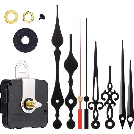 Faces Up To 2mm Thick 11mm Shaft Ersatz Quarz Hohes Drehmoment Uts Euroshaft Deutsche Uhrwerk Mechanismus Schwarz