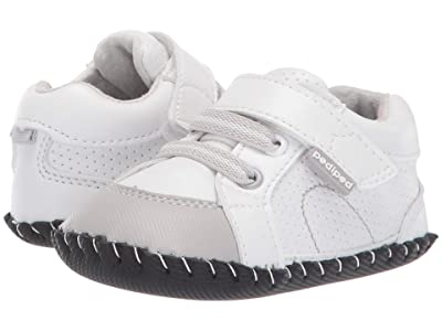 pediped Dani Original (Infant) (White/Grey) Boy