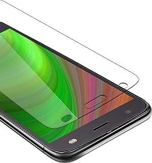 Cadorabo härdat glas fungerar med Motorola MOTO Z2 FORCE i HÖG TRANSPARENHET - skärmskydd 3D touch kompatibel med 9H hårdh...