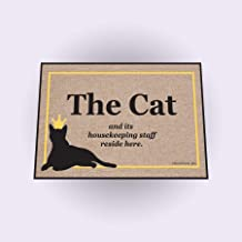 product image for High Cotton Cat Housekeeping Staff New Doormat