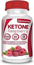 Ketone Raspberry fat burner with raspberry ketone African mango cider vinegar Green tea Green coffee Acai Kelp seaweed and Cultured vine 60 pills 1 month Natural fat burner Novonatur Estimated Price : £ 14,95