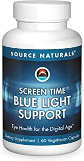 Screen Time Blue Light Support Source Naturals, Inc. 60 VCaps