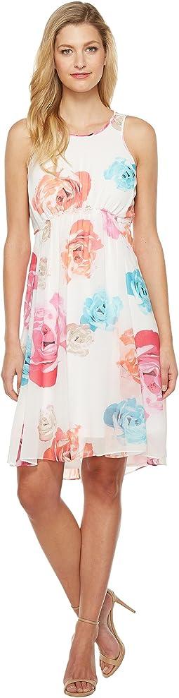 High-Low Chiffon Dress CD7H234V