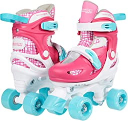 Quad Combo - Skate, Knee, Wrist & Helmet (Toddler/Little Kid/Big Kid)