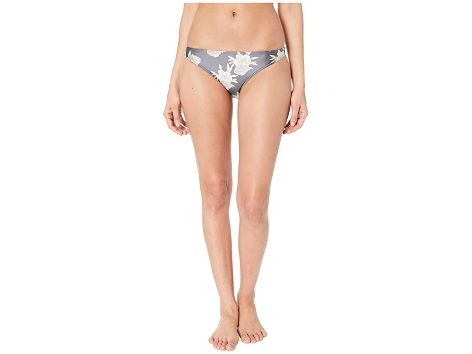Roxy Romantic Senses Moderate Swimsuit Bottoms (Turbulence Rose and Pearls) Women