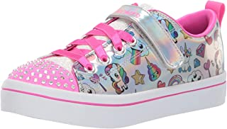 Skechers Kids' TWI-Lites-Fancy Faces Sneaker