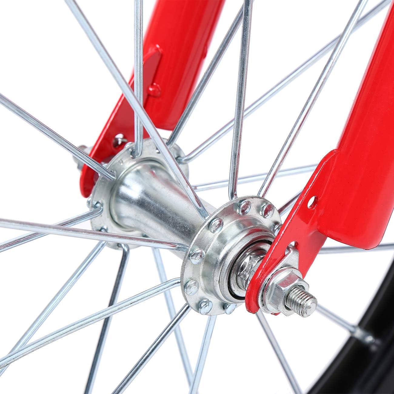 ridgeyard 16/los ni/ños Kid equilibrio beb/é estudio aprendizaje montando en bici ni/ños ni/ñas bicicleta de monta/ña