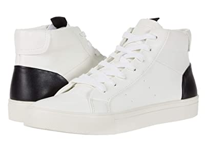 Steve Madden Coastline Sneaker (White/Black) Men