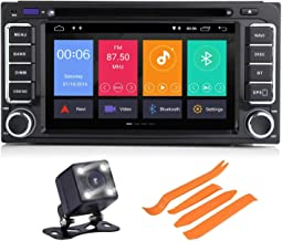 COROTC Compatible with Camry Corolla RAV4 4Runner Hilux Tundra Celica Auris Android 8.1 Touch Screen Car Stereo Support GPS/Bluetooth/AUX in/DVR/Mirror Link