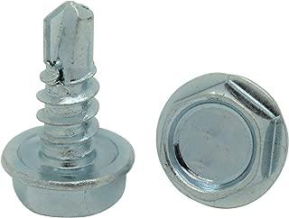 Snug Fastener 100 Qty #10 x 1//2 Zinc Pan Head Phillips TEK Self Drilling Sheet Metal Screws SNG80