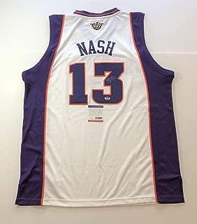 Signed Steve Nash Jersey - PSA/DNA Certified - Autographed NBA Jerseys