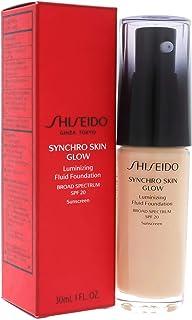 Shiseido Synchro Skin Glow Luminizing Fluid Foundation SPF 20 for Women, 03 Neutral, 30ml
