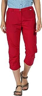 REGATTA Women's Chaska II' Quick Drying Water Repellent Active Lightweight Walking Capri Shorts