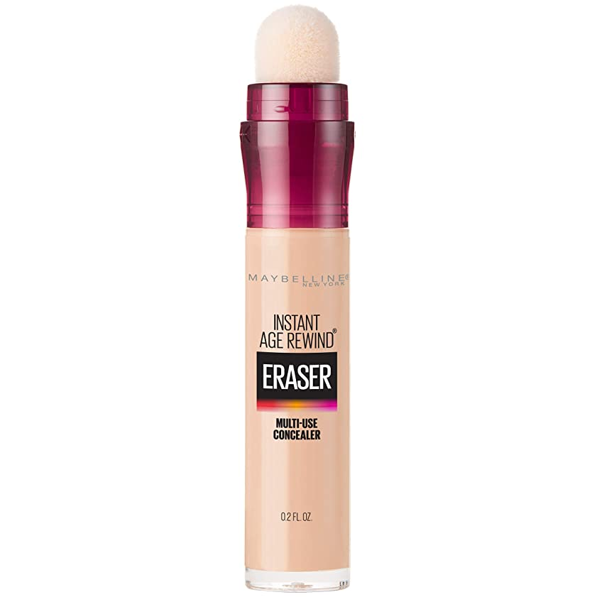ペンリードクランプMAYBELLINE Instant Age Rewind Eraser Dark Circles + Treatment Light (並行輸入品)