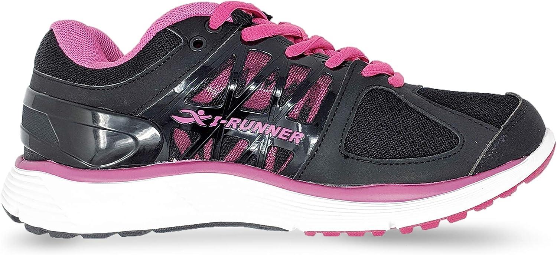 I-RUNNER Woman Sophia 特価キャンペーン Leather Walking Mesh Shoes 人気の製品