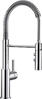 Blanco 铂浪高 Catris-S,带拉出式软管的单把手龙头 / 厨房龙头,高压,镀铬,1件,521476