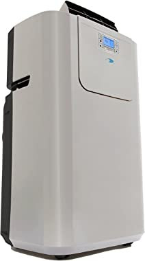 Whynter ARC-122DS 12,000 BTU Dual Hose Portable Air Conditioner, Dehumidifier, Fan with Activated Carbon Filter plus Storage