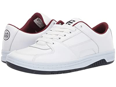 etnies Senix Lo (White/Navy/Red) Men