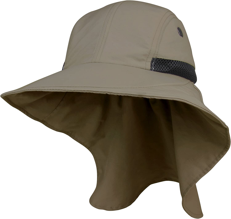 Juniper Men's Large Bill Cap with Flap