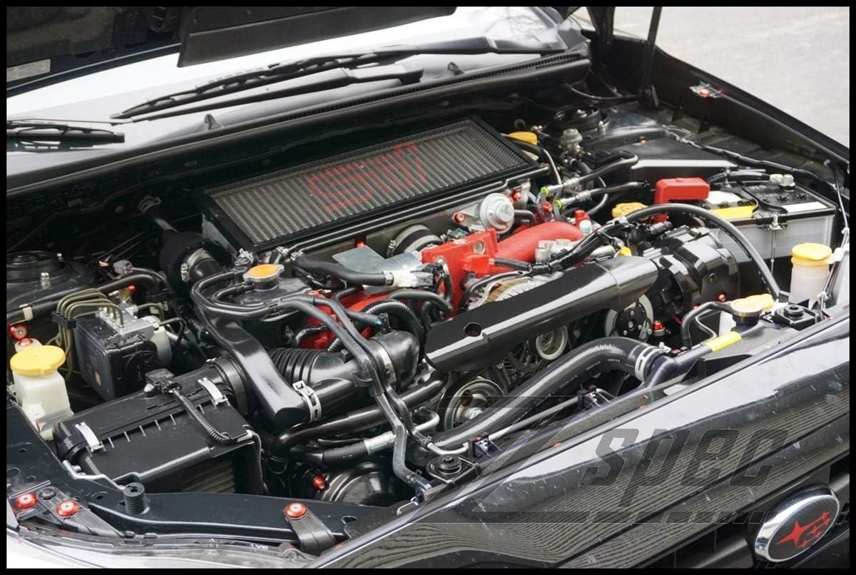 fits 2015-2020 Subaru WRX /& STI ZSPEC Design Ultimate Dress-Up Fastener Kit