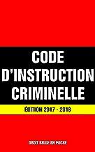 Best code d instruction criminelle belge Reviews