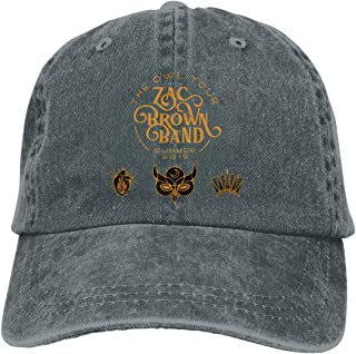 Zac Brown Band Denim Hat Fashion Can Adjust Denim Cap Baseball Cap Unisex