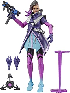 "E6487AS00 Overwatch Ultimates Series Sombra 6"" Collectible Action Figure"