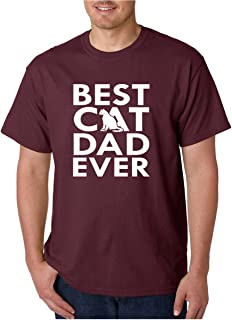 CBTWear Best Cat Dad Ever - Funny Cat Shirt, Dad Tee, Mens Cat Tshirt, Gift for Cat Lovers, Gift for Cat Owner Men's T-Shirt