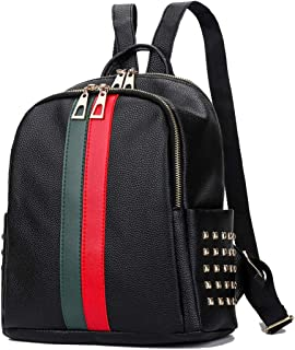 Women Backpack Purse Mini Leather Rucksack Fashion Small Daypack Travel Shoulder Handbag