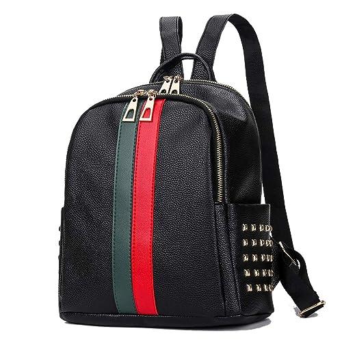 Girly Mini Cute Backpack Purse Mynos Teenager School Satchel Designer Day  Pack Double Zippers Bookbag Women 77d24796d50ae