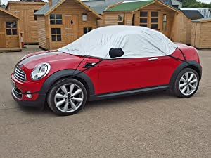 Half Size Car Cover fits Mini Roadster R59 2012-onwards