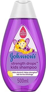 شامبو الاستحمام للأطفال من جونسون كيدز، قطرات قوية، 500 مل