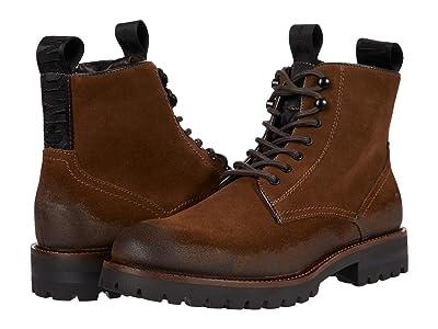 Steve Madden Mackee Logger Boot (Tobacco) Men