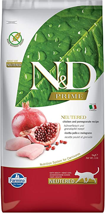 Farmina - ndgr.ainfree neutered pollo e melogr.ano 5 kg. - gatto 8010276032690