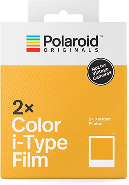 Polaroid Originals 4836 Película I-Type 1 Blanco