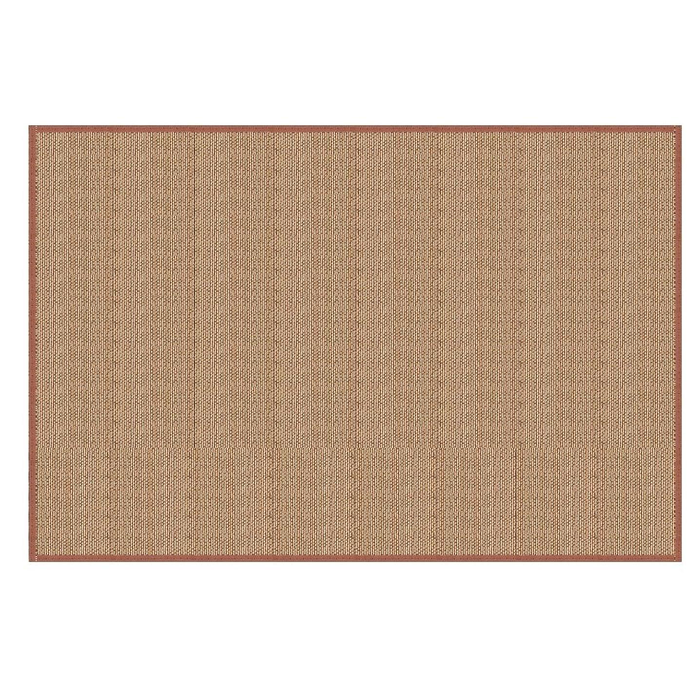 エスカレートプロペラクスコぼん家具 ラグマット 竹製 マット オールシーズン使える ラグ センターラグ カーペット 夏 〔130×190cm〕 ブラウン